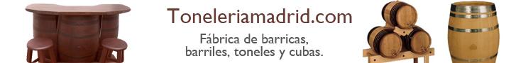 Banner Tonelería Madrid