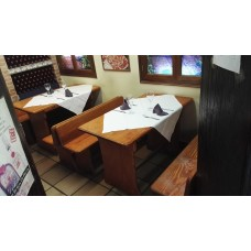 Conjunto restaurante medida especial